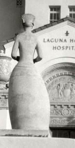 Florence Nightingale Sculpture at Laguna Honda Photo Courtesy Smithsonian Inventory of American Sculpture