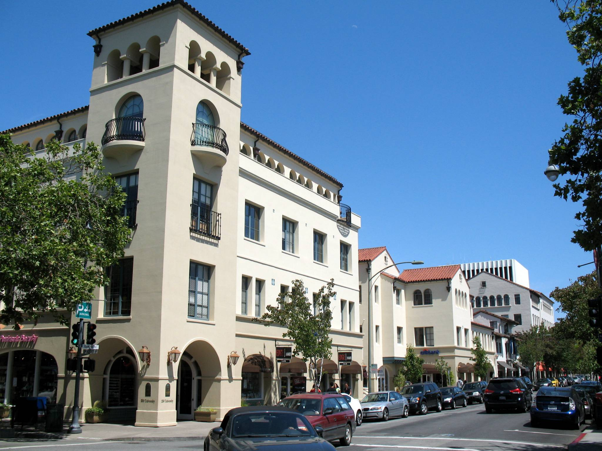Ramona Street Architectural District, north side of Ramona St. from University Ave., Palo Alto, CA