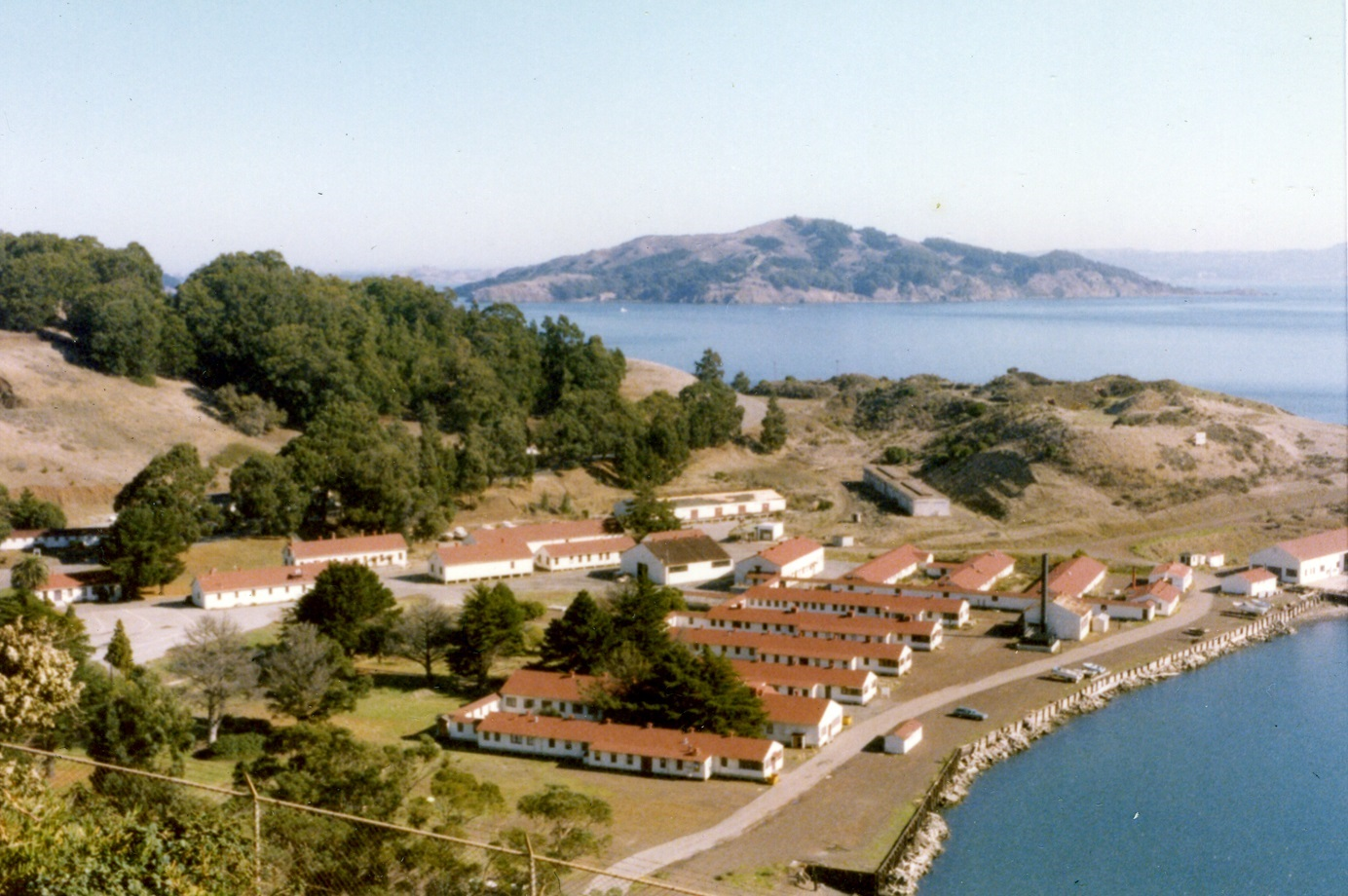 1980 Fort Baker waterfront (Judge Coll)