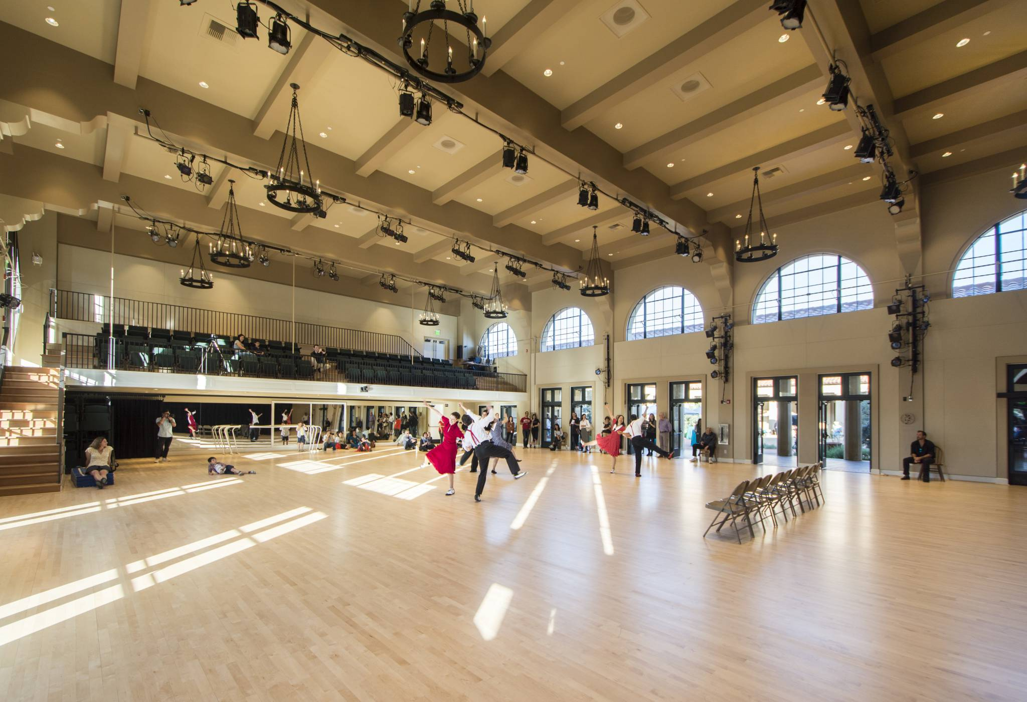 Roble Gymnasium Interior