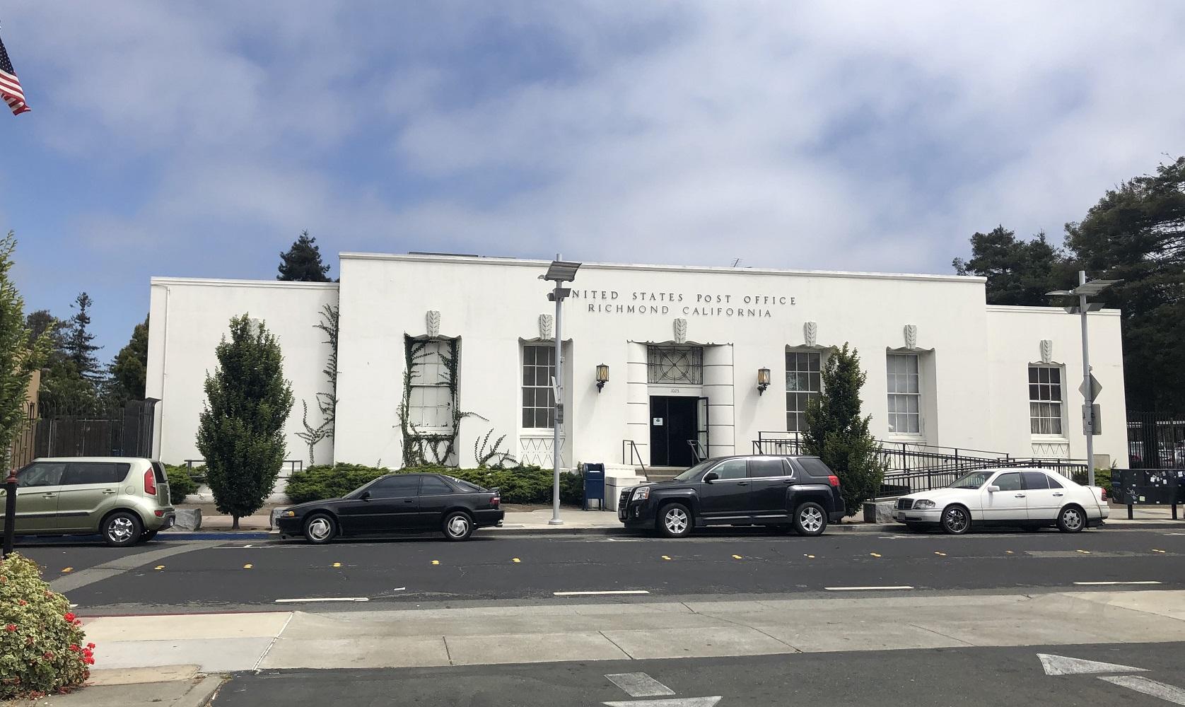 Richmond Main Post Office today