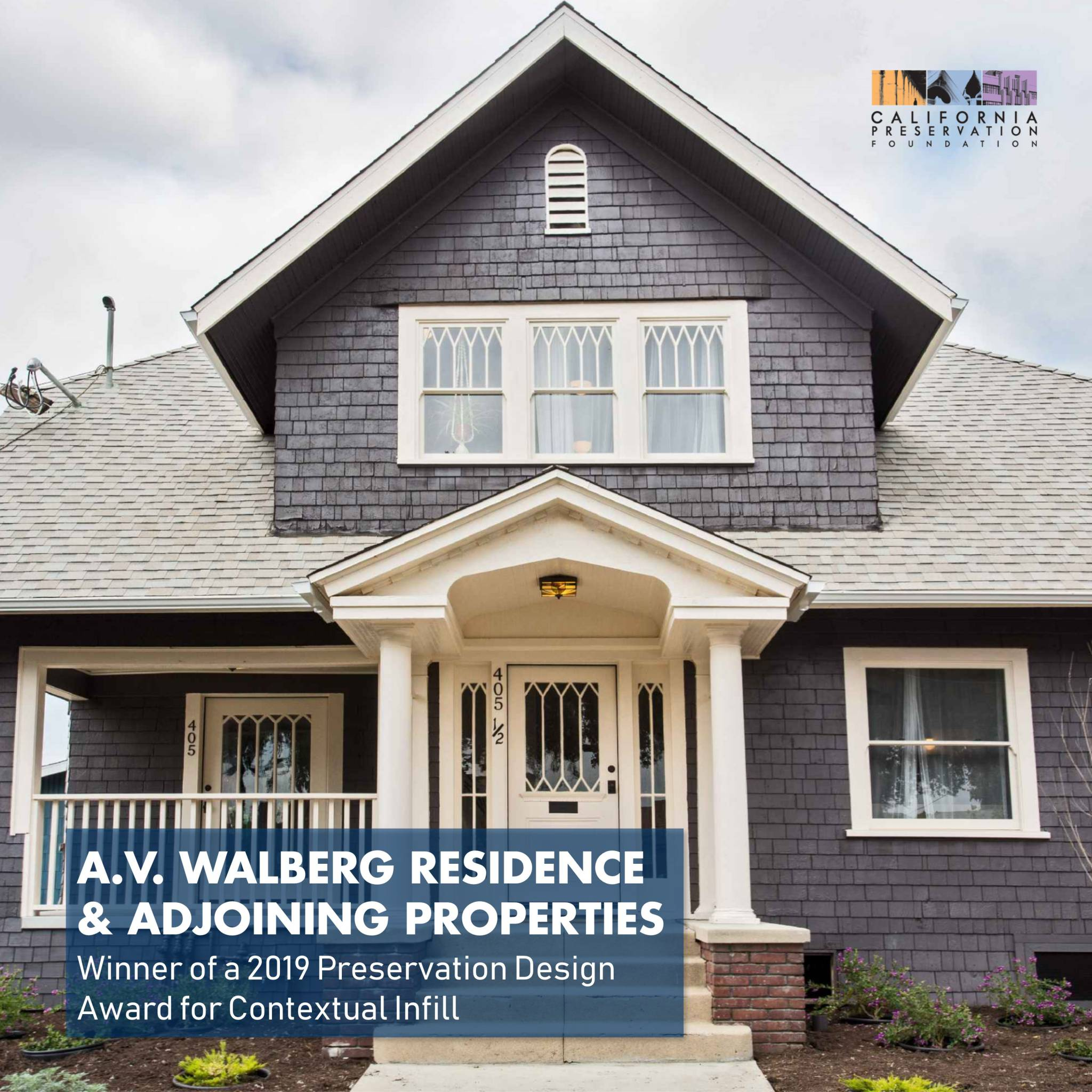A.V. Walberg Residence & Adjoining Properties