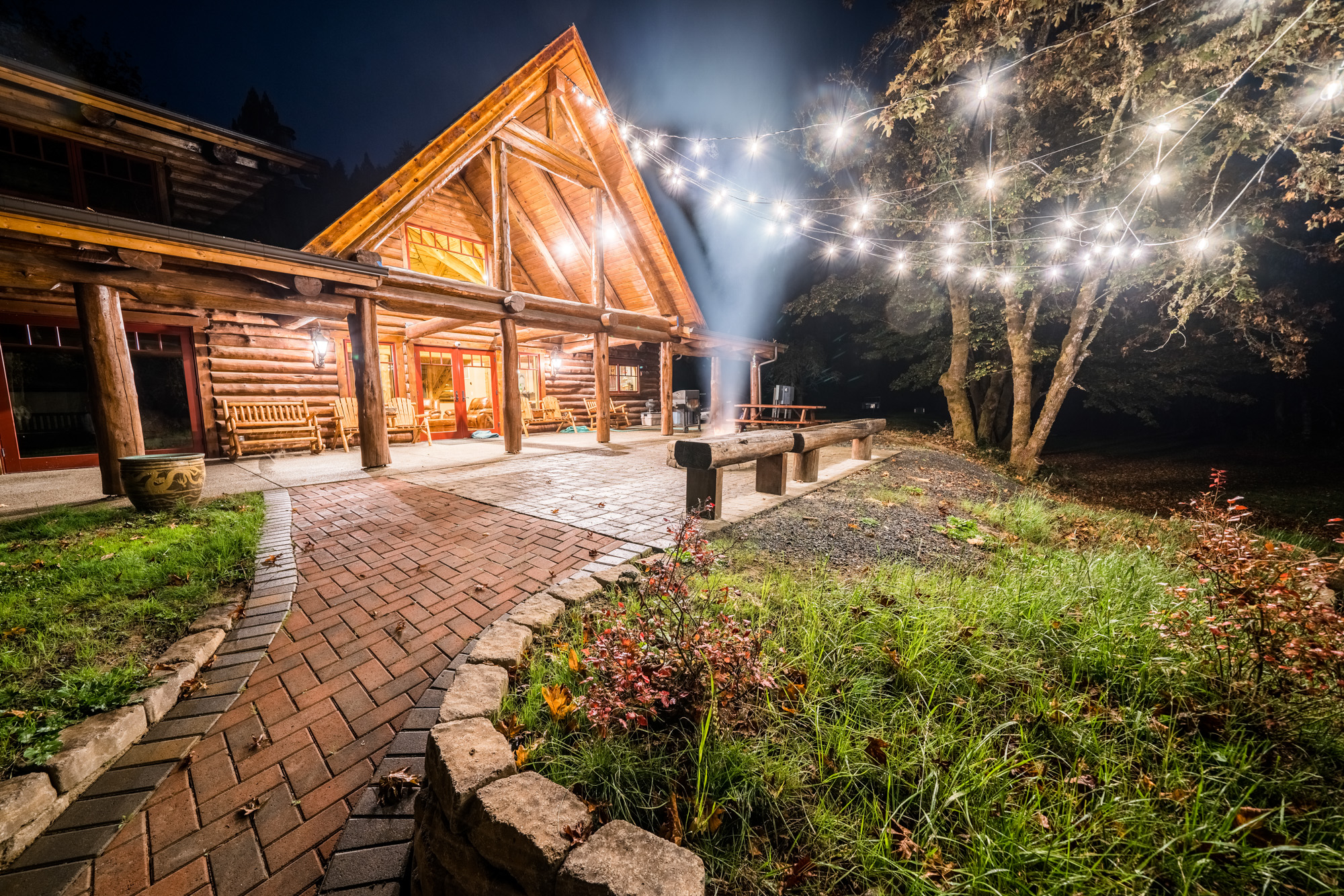 Four Night Stay at the Firewater Lodge a Custom-designed