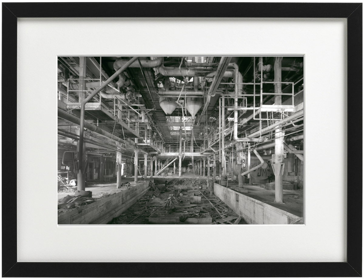 Longmont Sugar Factory Floor - Limited Edition Signed Print