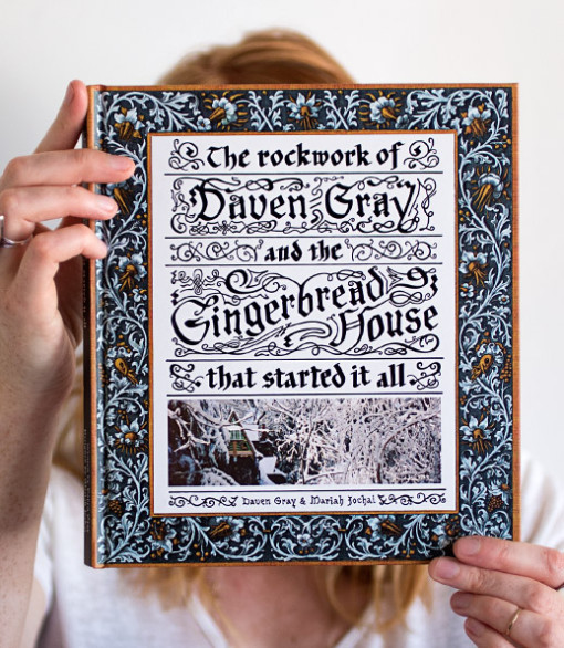 The Rockwork of Daven Gray - The Gingerbread House Signed Book and Coffee with Author